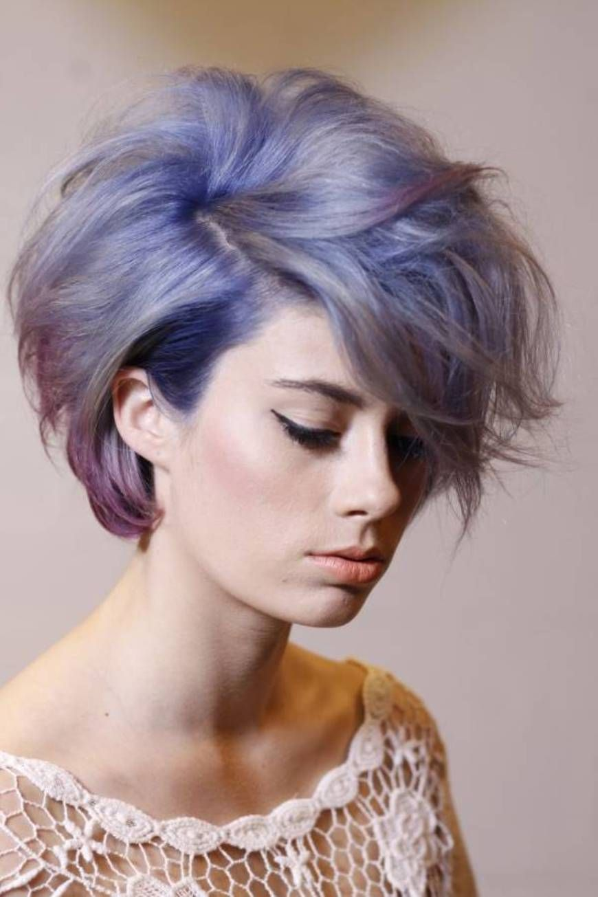 unique color short haircuts for women - http://hairstylee