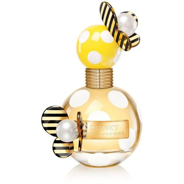 Marc Jacobs Honey Eau De Parfum 1.7 oz (98 AUD) ❤ liked on Polyvore featuring beauty products, fragrance, perfume, beauty, makeup, fillers, eau de parfum perfume, blossom perfume, eau de perfume and edp perfume