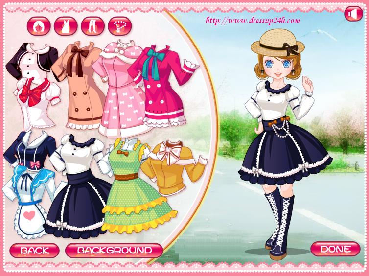 Anime Stylist Dress up Games Summer dresses, Dress up