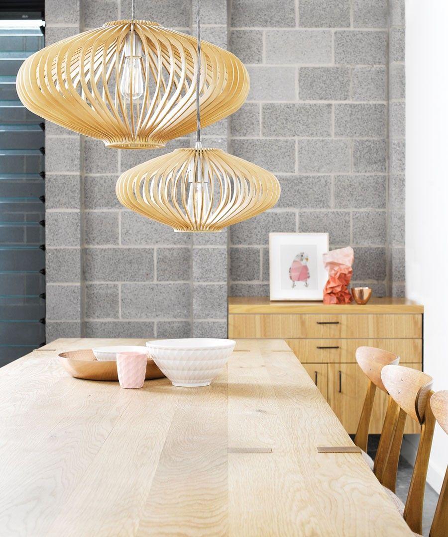 kiel 360mm natural wooden pendant pendant lights lighting diy