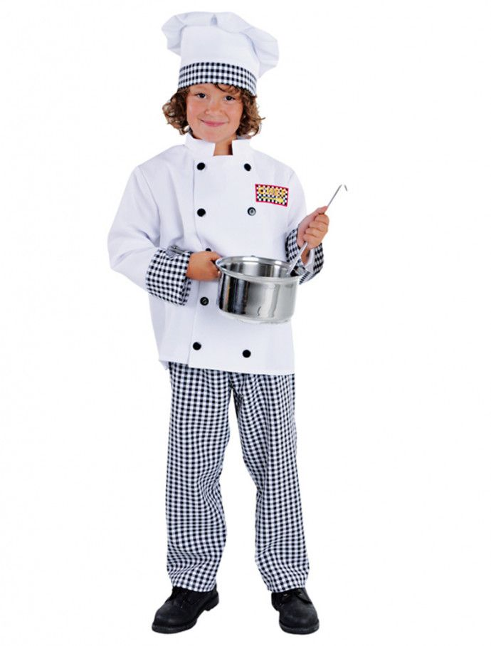 Koch Kinder 3 Tlg Fur Karneval Fasching Deiters Madchen Junge