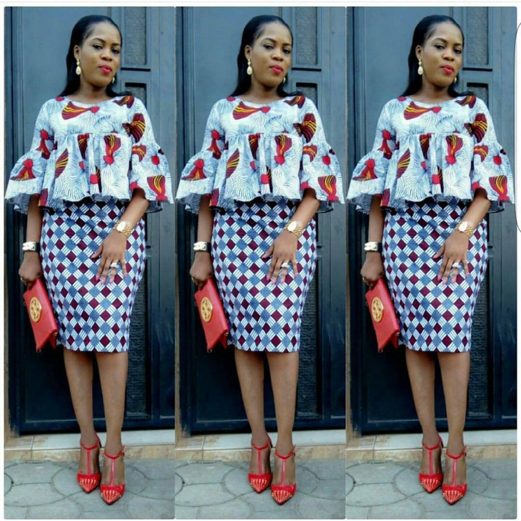 Ankara Styles Every Fashion Girl Would Love Kam Pinterest Pagne Mode Africaine Et Tenue