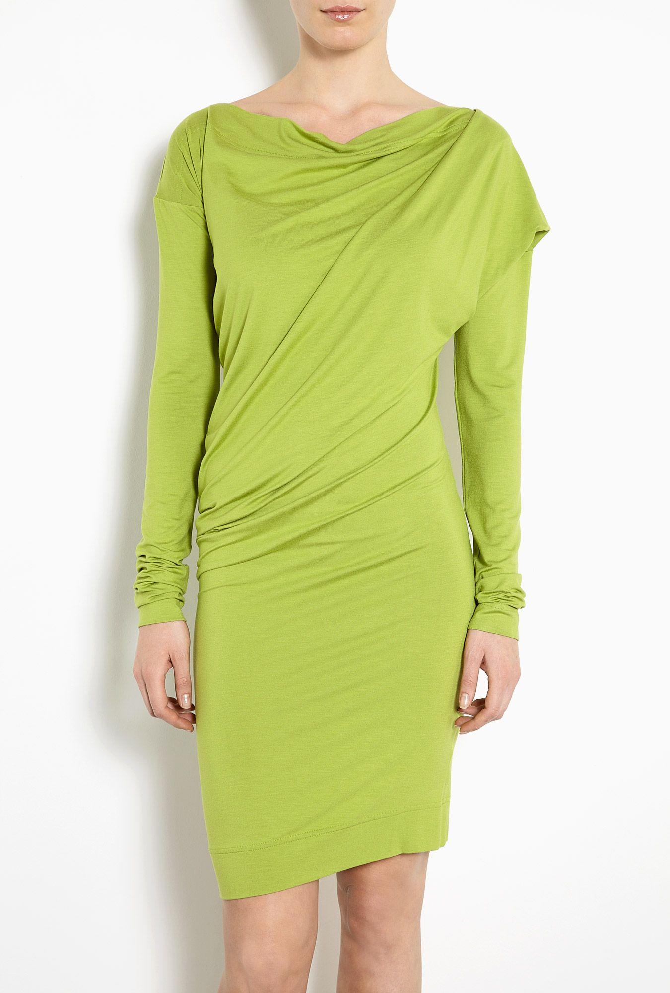 Vivienne Westwood Anglomania | Toga Drape Jersey Dress by Vivienne ...