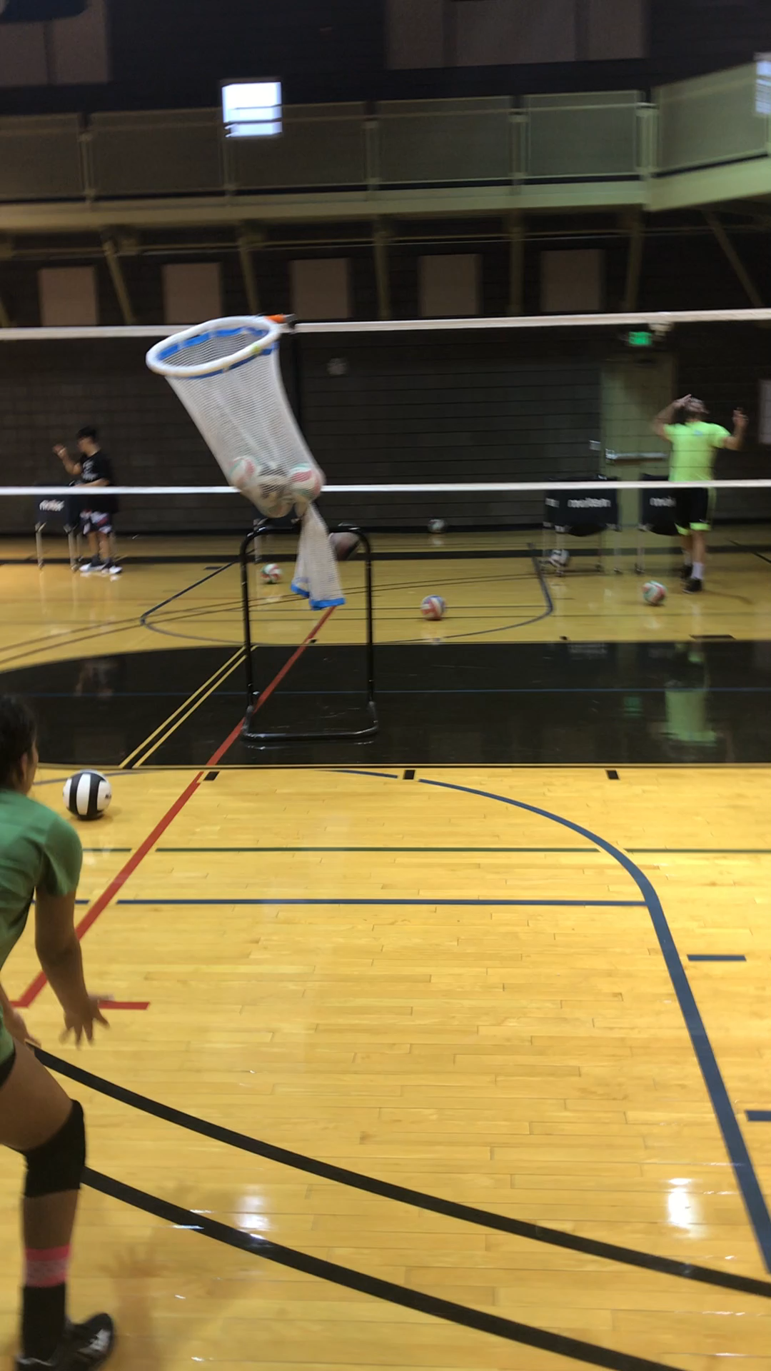 4 Volleyball Passing Drills How To Get Better At Passing In Volleyball Video Video Volleyball Tips Volleyball Drills Volleyball Passing Drills