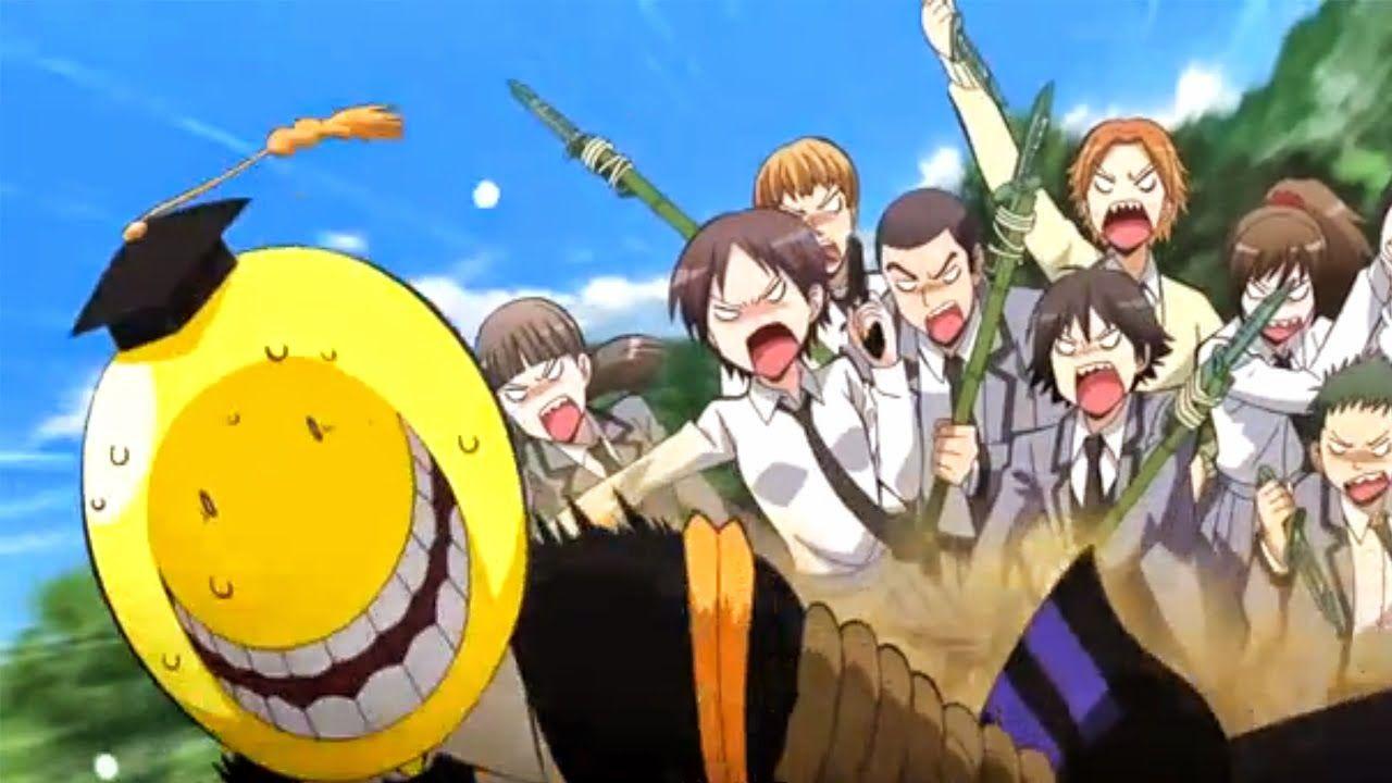 The Random Review Assassin Classroom Anime