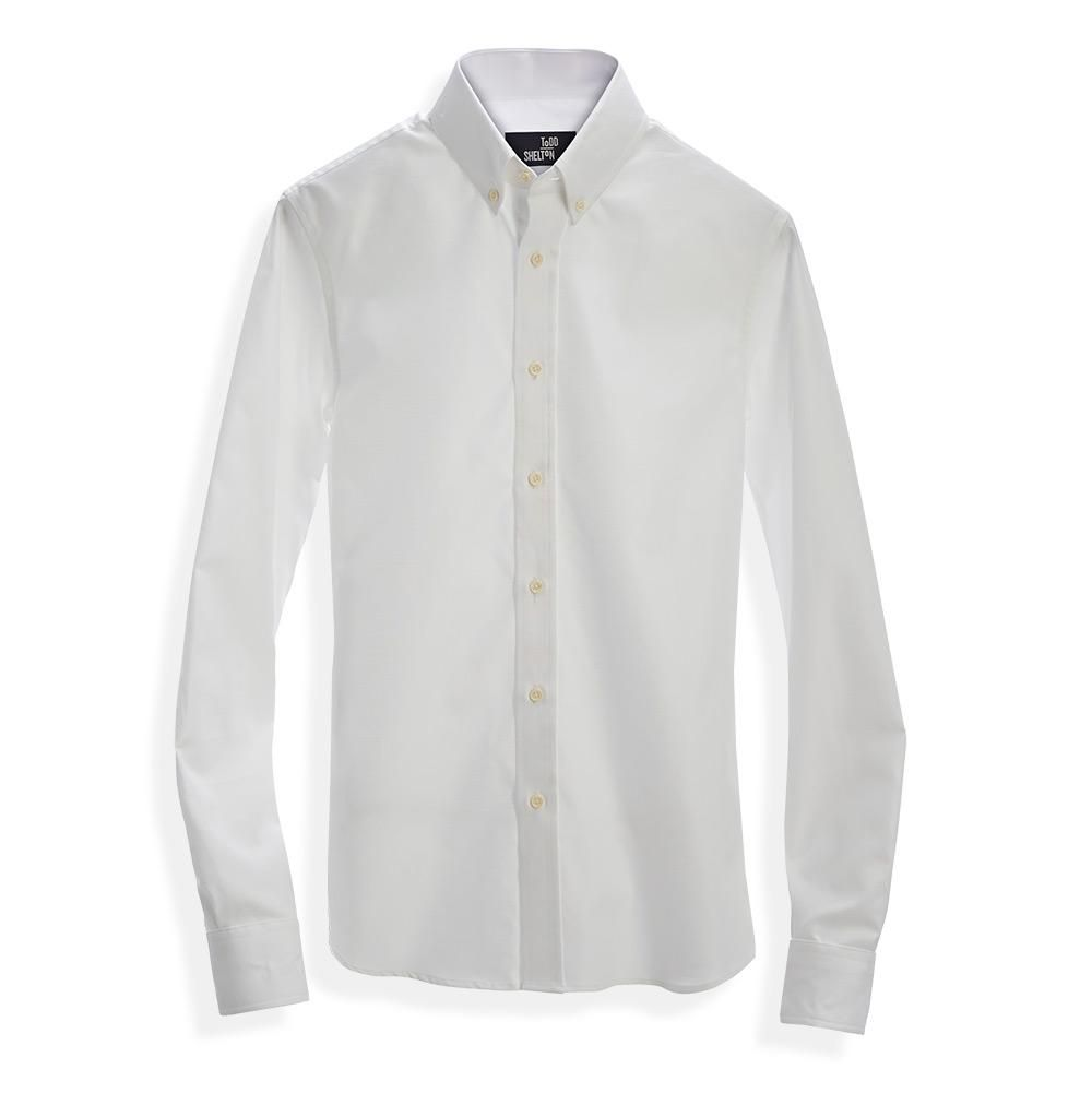 Classic Oxford Shirt White Made In Usa Mens White Dress Shirt