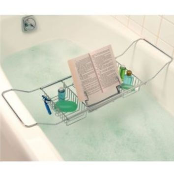 Better Sleep Cross Tub Caddy in Stainless Steel | yes please ...