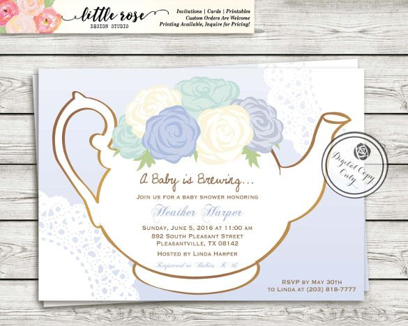 tea party invitation template 40 free psd eps indesign format download free premium templates