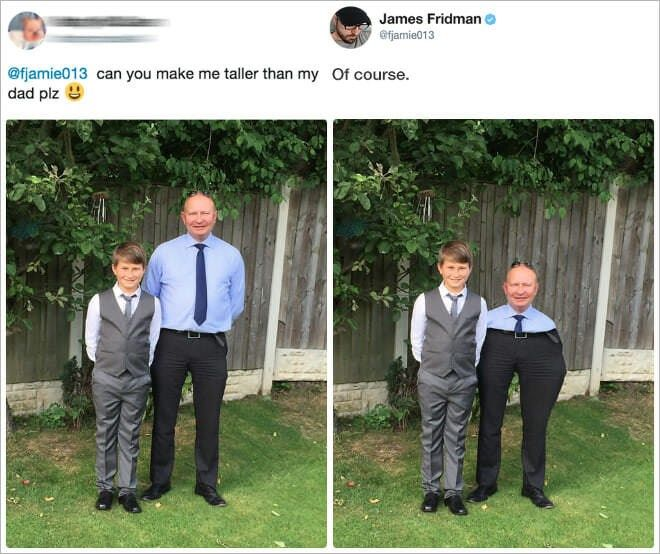 17 Spicy Photoshop Trolls From The Master, James Fridman