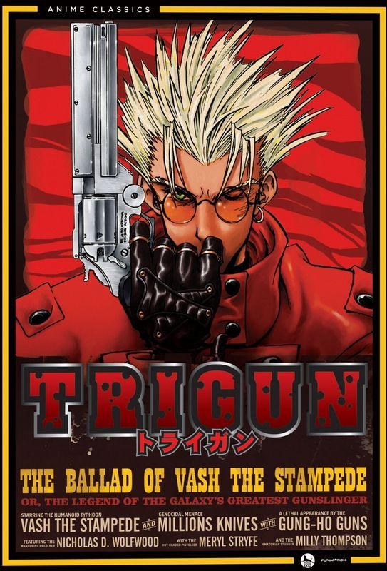 Trigun english dubbed audiotracks
