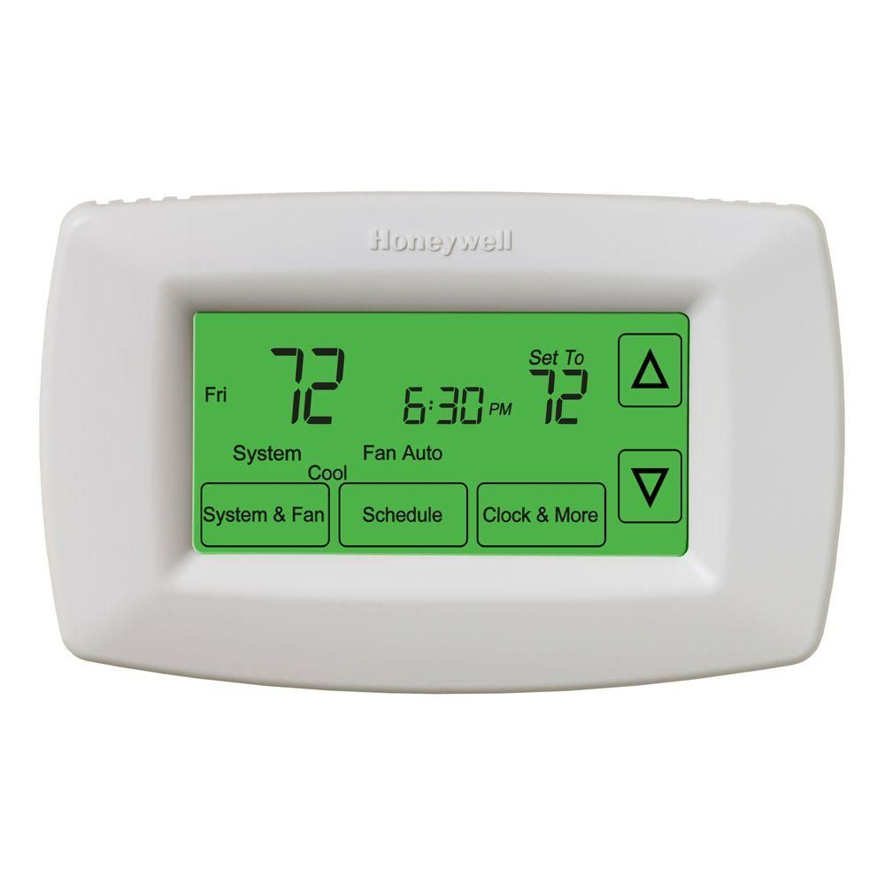 Honeywell Home 7 Day Programmable Touchscreen Thermostat Home