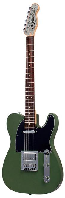 Normandy Guitars - Powder Coat Alumicaster Army
