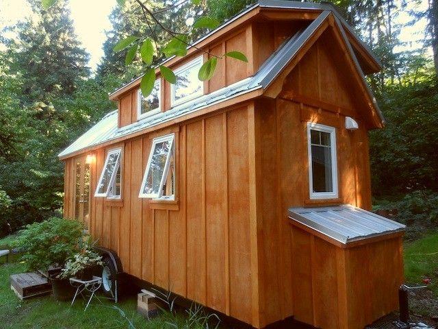22 long Ynez tiny house by Oregon Cottage Company Minimize