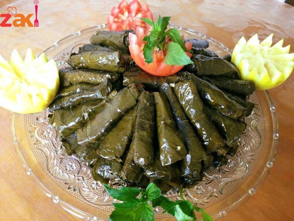 طريقة عمل اليبرق الشامي اللزيز جدا زاكي Syrian Food Food Cooking