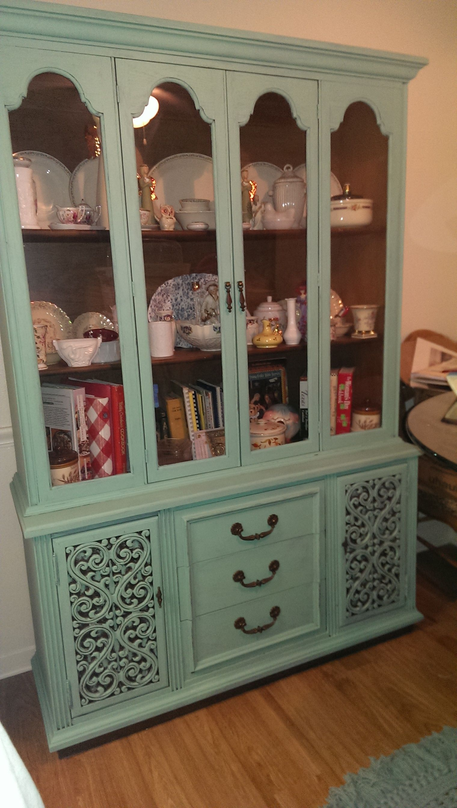 furniture category hutch cabinets hutches mcm vintage jpg parquet china picked cabinet