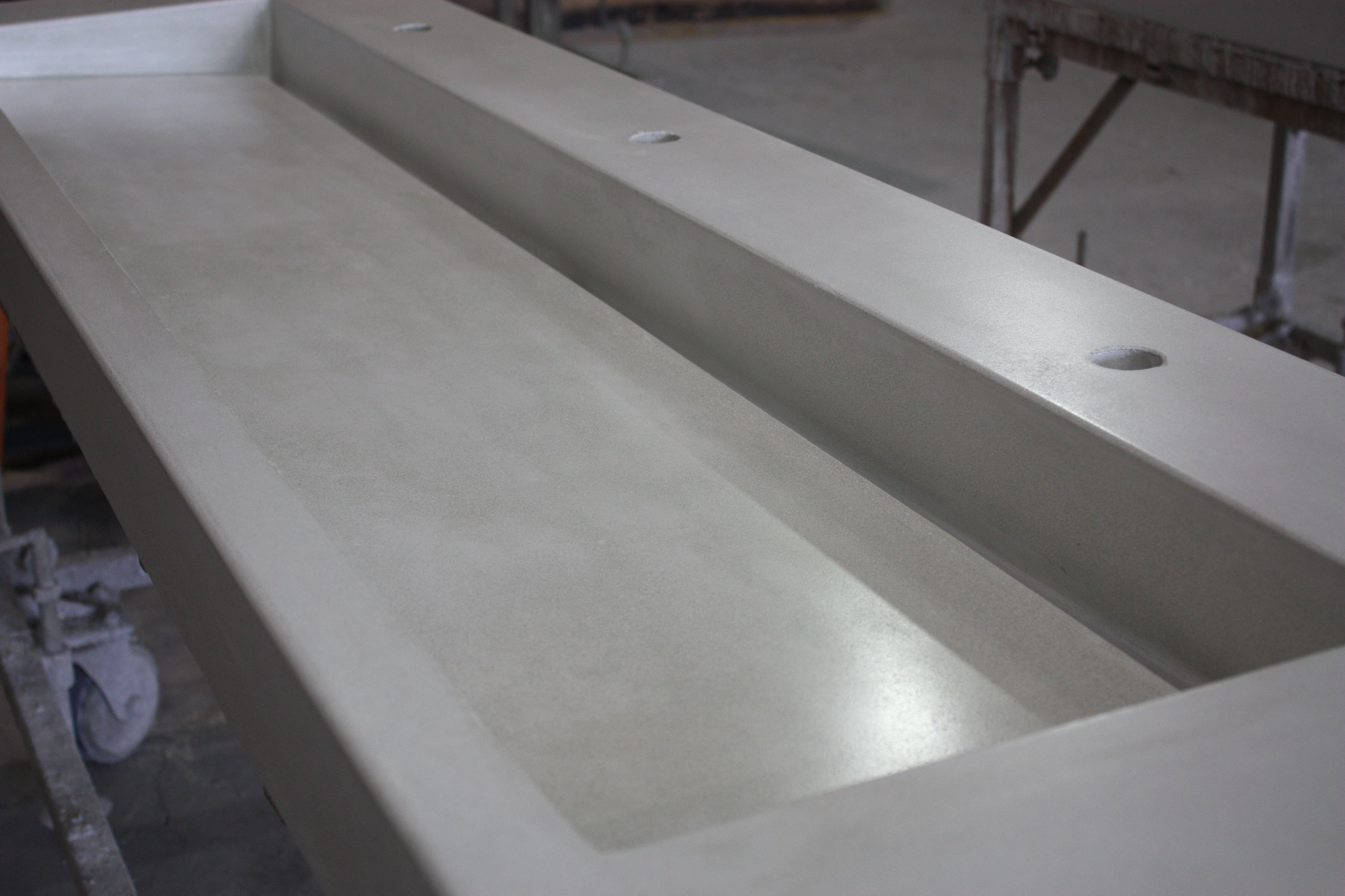 Slim Profile Slot Drain Concrete Ramp Sink Trough Sink
