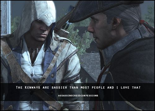 Connor And Haytham Fanfiction Assassins Creed Confes...