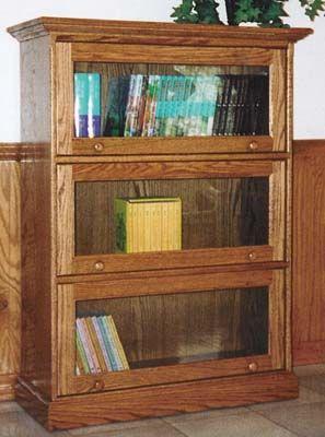bookshelf - barrister - amish - weaver