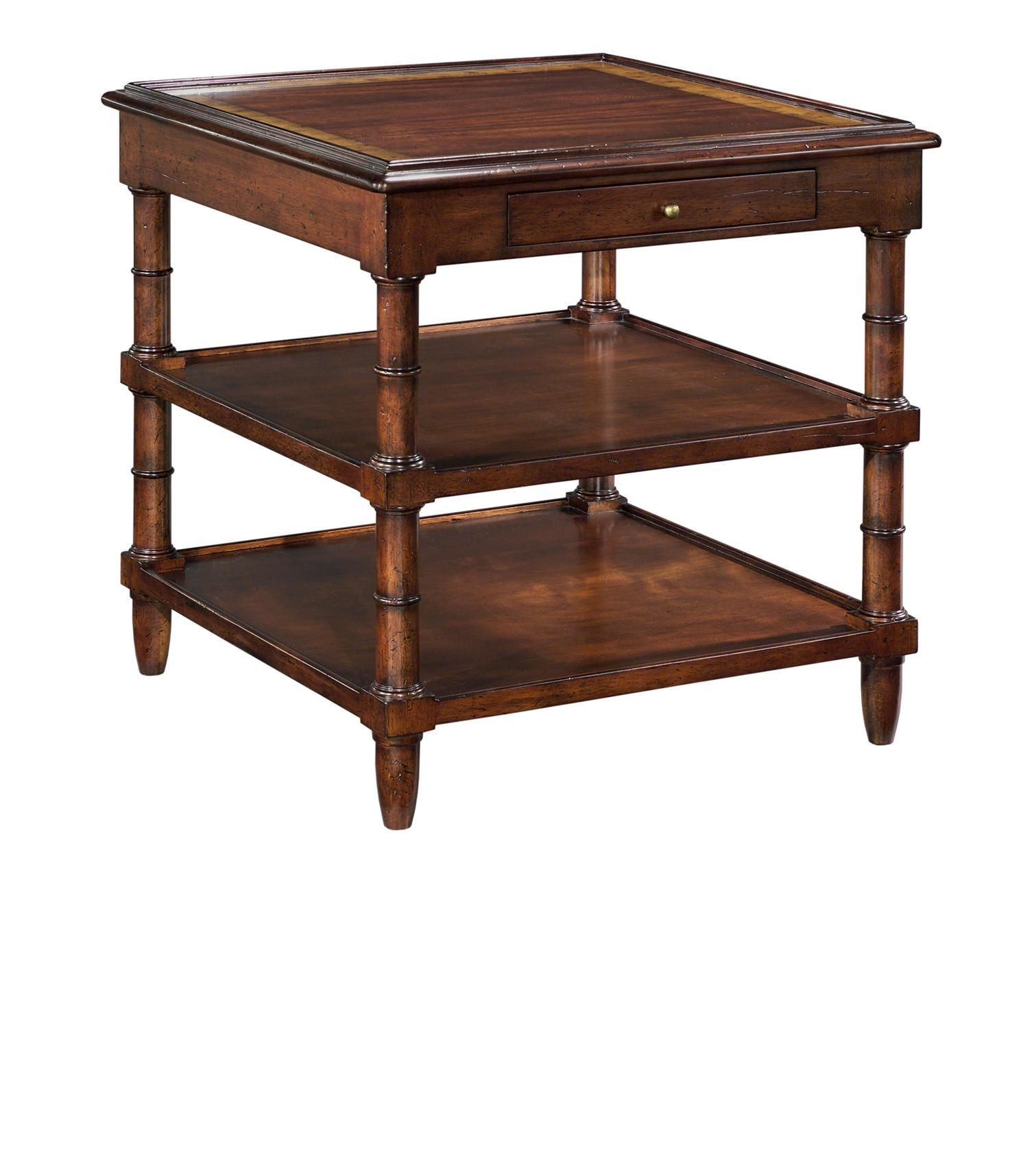 "Woodbridge 1060-01 Regency side table 27"" square X 27 ..."