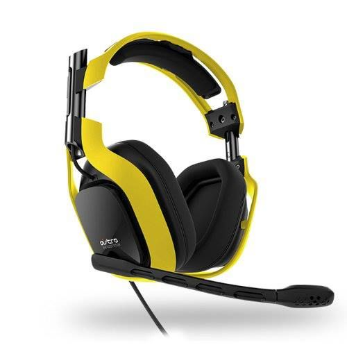 2013 ASTRO Gaming A40 Over Ear Headset with Boom Mic- Neon Yellow – Headset Only $149.99