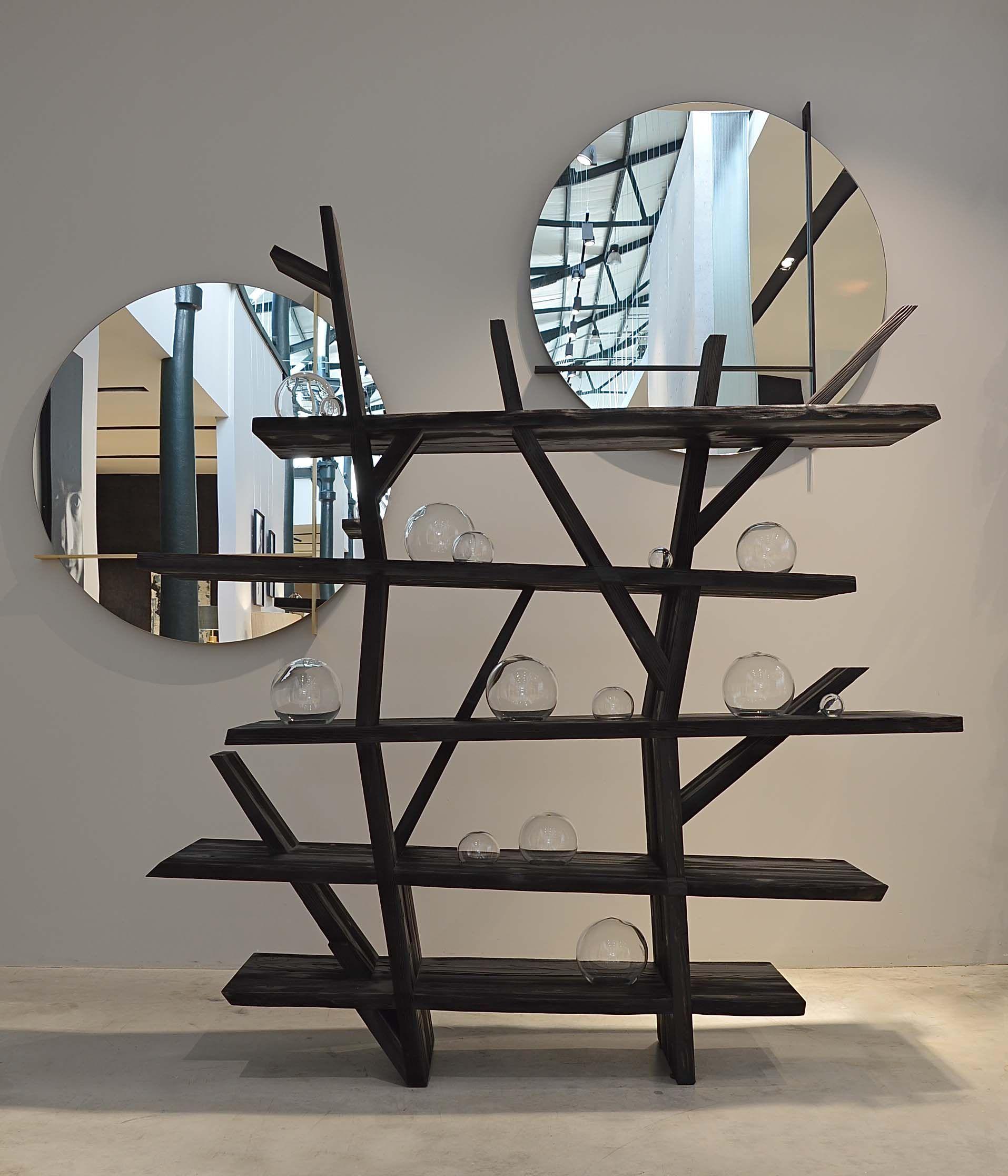 Roche Bobois   10th Anniversary U0027Charbonu0027 Edition Of The Legend Bookcase,  Designed By
