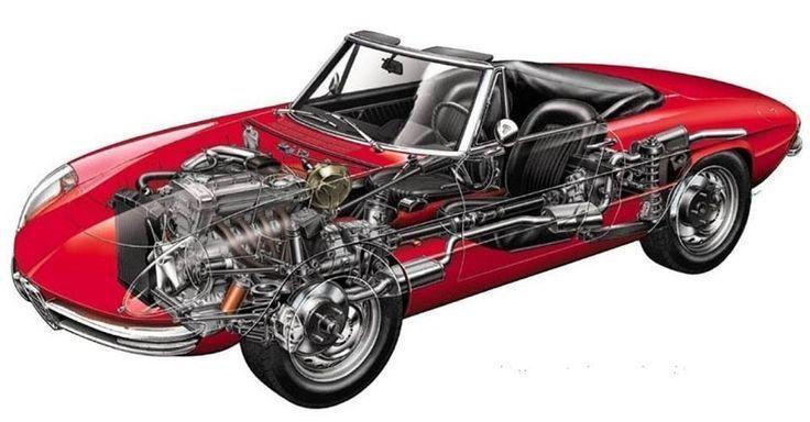 Alfa Romeo Spider Duetto in 2020 | Alfa romeo spider, Alfa ...