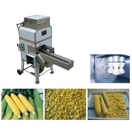 Corn Thresher Machine & Corn Cutter & Fresh Sweet Corn Cutting Machine