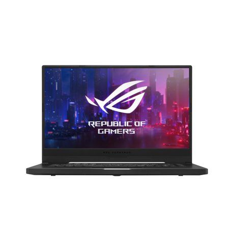 Weighing in at just 4.85lbs, this streamlined gaming laptop has the slim size and subtle style to fit in anywhere. Its GeForce GTX 1660 Ti and Ryzen 7 processors slice through popular games and everyday work, making it a versatile, affordable hybrid device for content creators and gamers alike. Size: 6 inch. Color: Black.