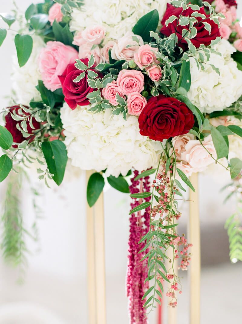centerpiece from styled engagement party in Ponder, Texas | Wedding ...