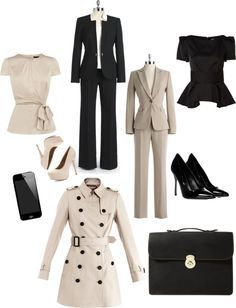 Olivia Pope black and white style