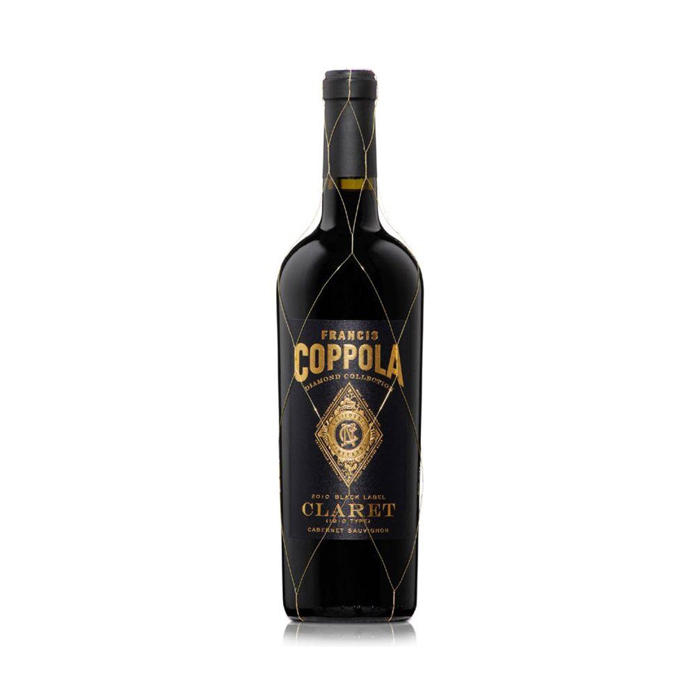 It is a picture of Ambitious Coppola Claret 2009 Black Label