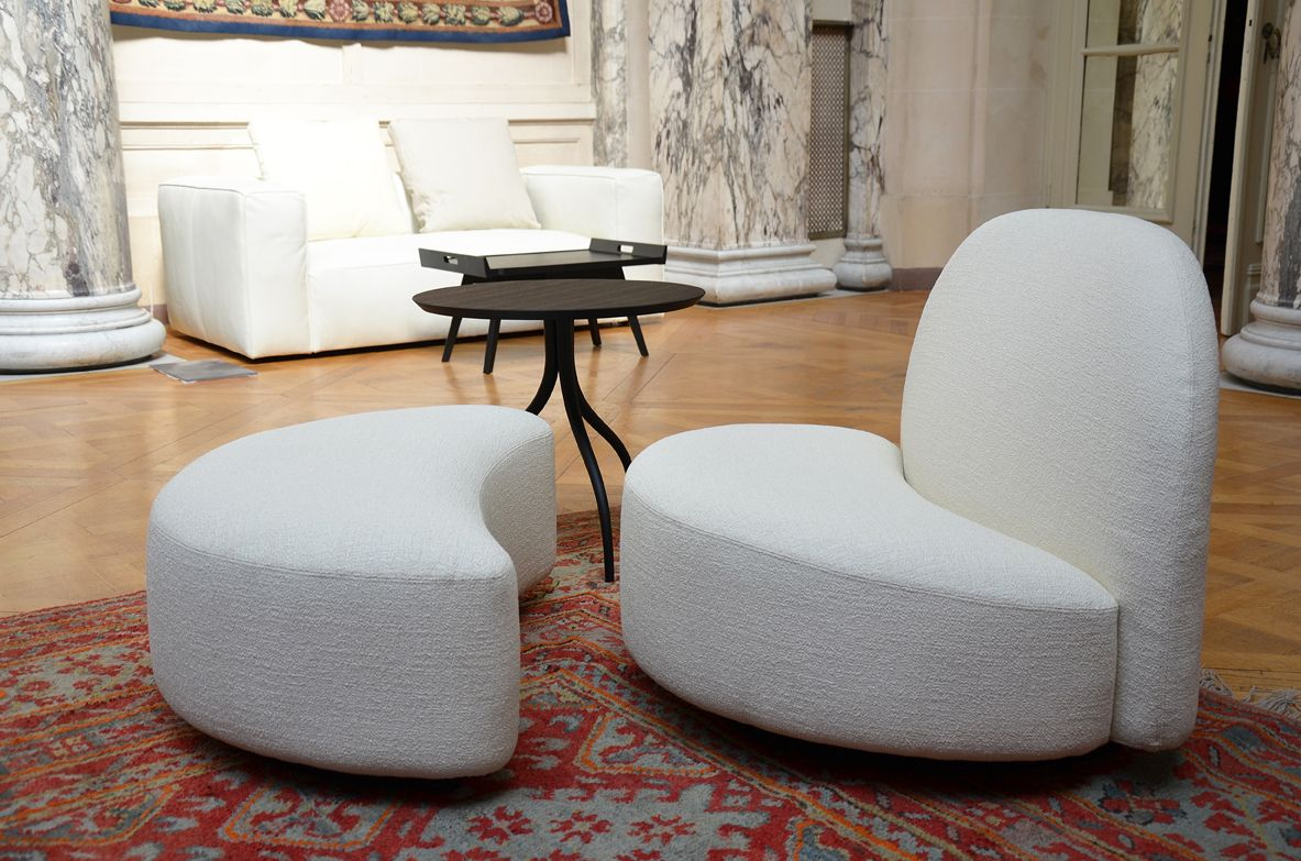 elysée armchair and ottoman french ambassador palace event in