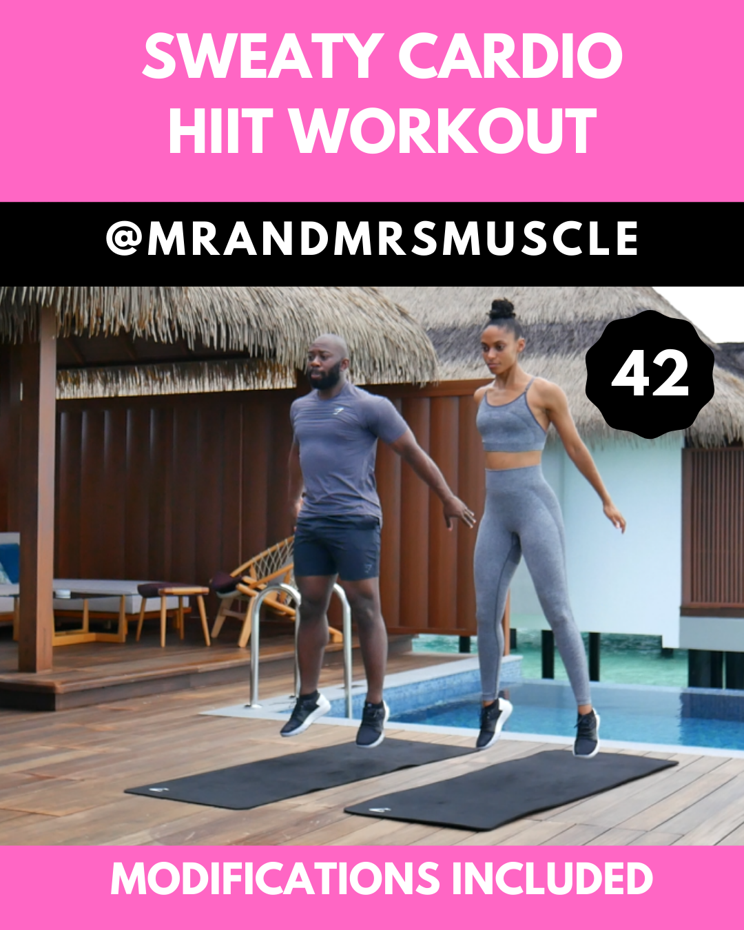 Photo of Sweaty Cardio Workout – with beginner modifications