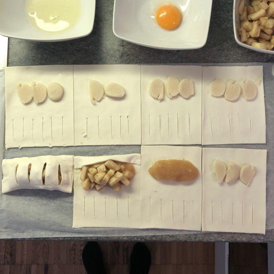 Schnelle und einfache Apfeltaschen - Düsentrieb's Kitchen