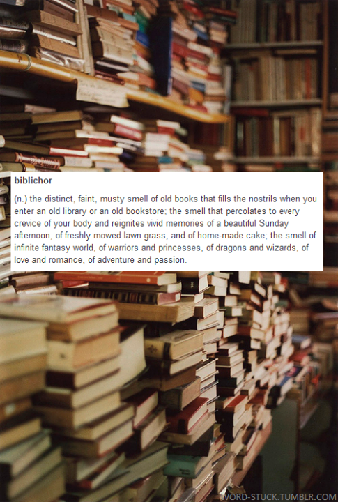 The Distinct, Faint, Must Smell Of Old Books That