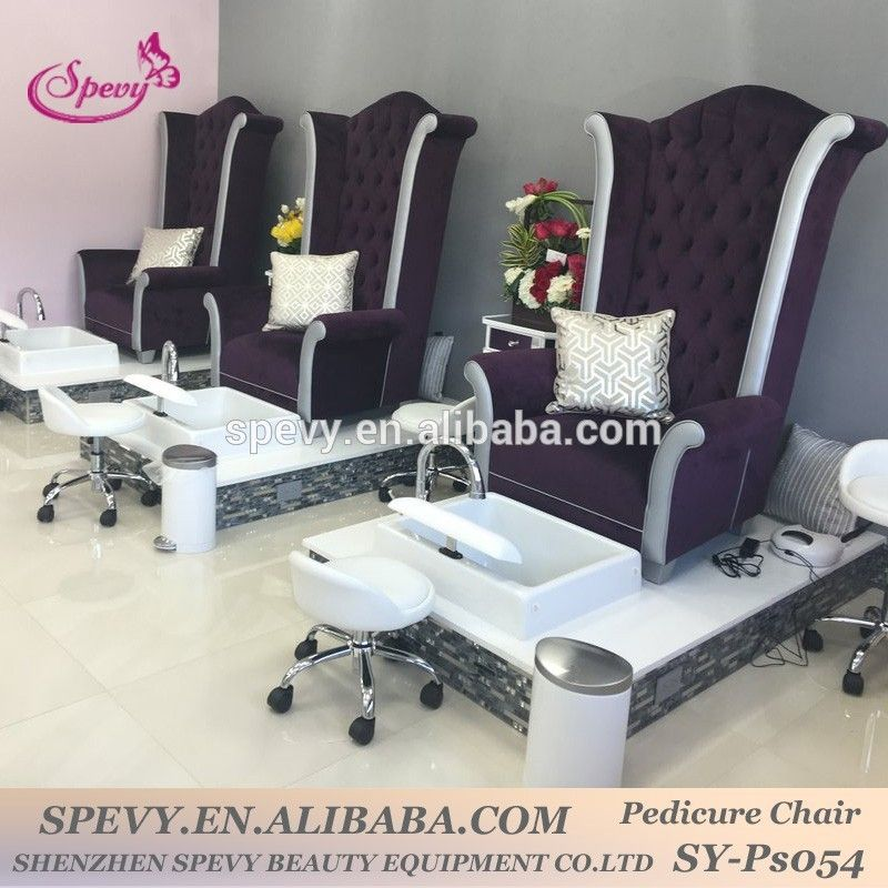 high back throne pedicure chair with ceramic bowl and jet form spevy ...