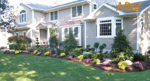 landscaping ideas for front of house | Landscape Design - Old ...