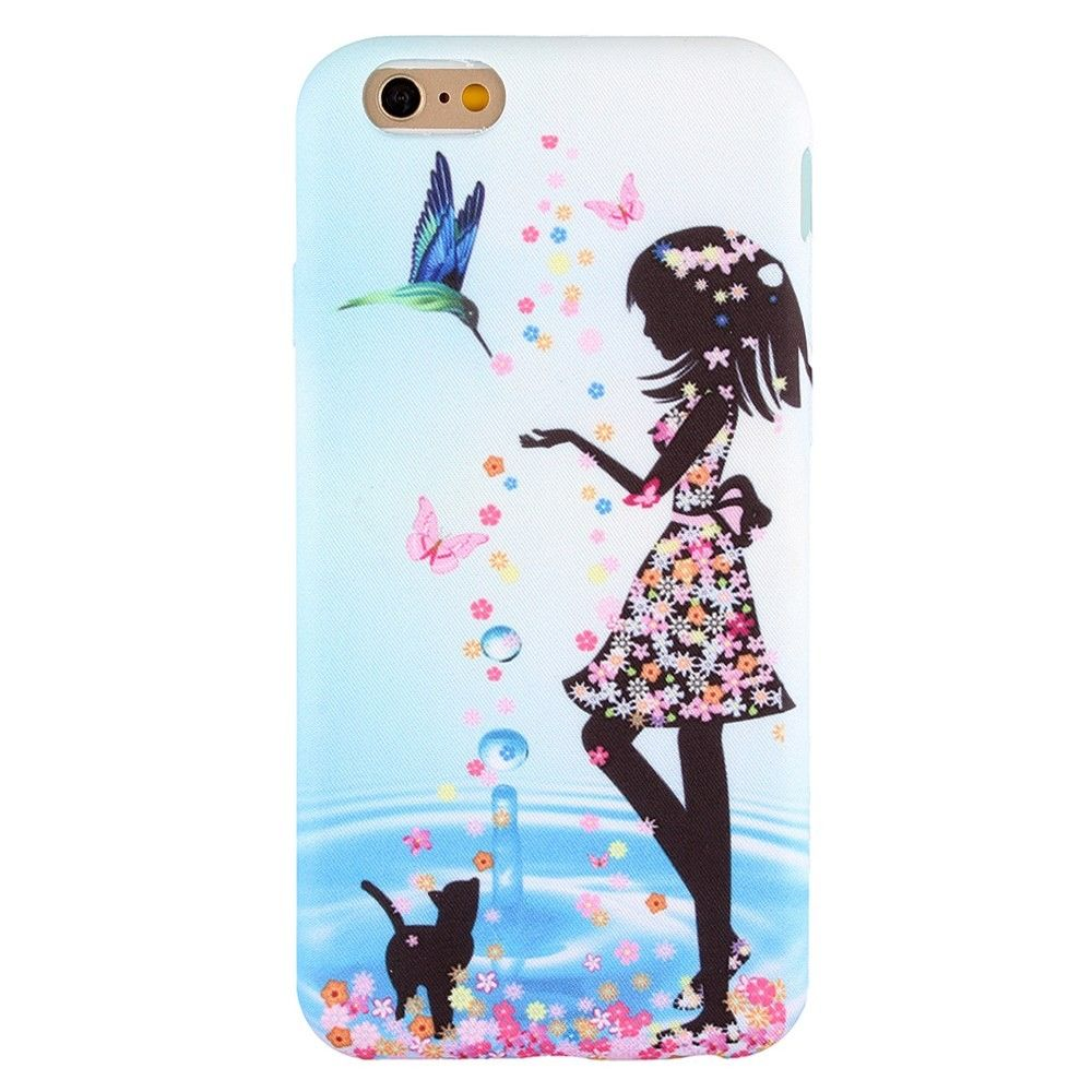 coque iphone 6 silicone fille