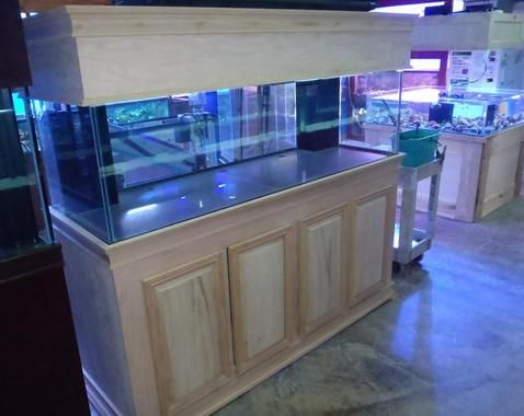 Custom Aquarium Cabinets And Stands For Freshwater And