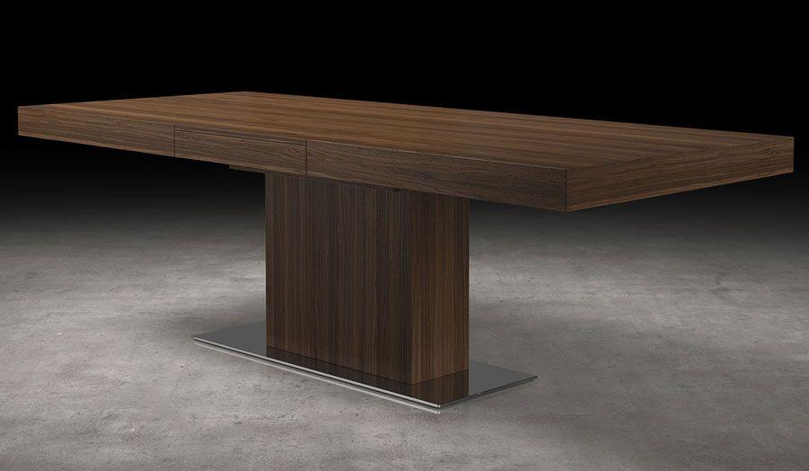Astor Dining Table Modern Walnut Dining Table Walnut Dining Table Modern Dining Table Dining Table