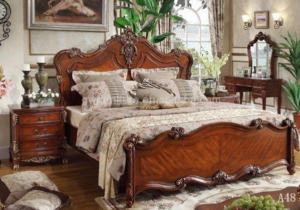 De Madera Maciza Muebles De Dormitorio De Diseño Camas .