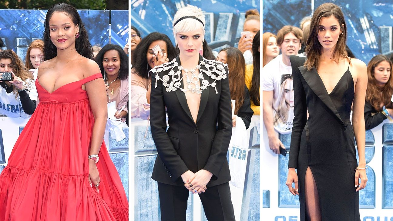 Watch Rihanna and Cara Delevingne Steal The Show at The Valerian Premiere video