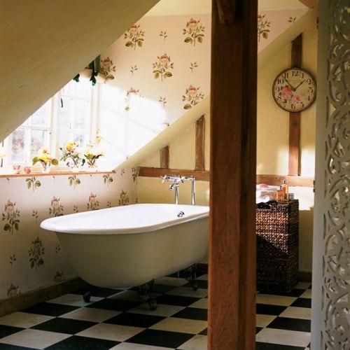 Tapeten Ideen im Bad - 21 ausgefallene und stilvolle Vorschläge ...