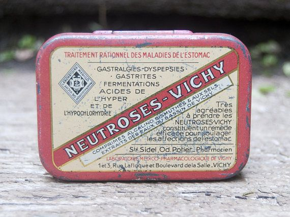 Petite boite métallique Vintage Trust Me...