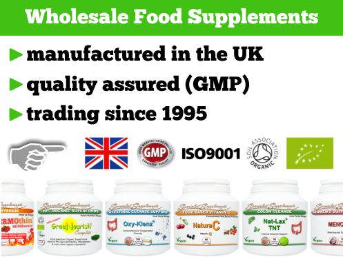Private Label Supplements UK: High quality health supplements