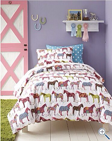My inspiration (in softer tones) for Nat's new room.