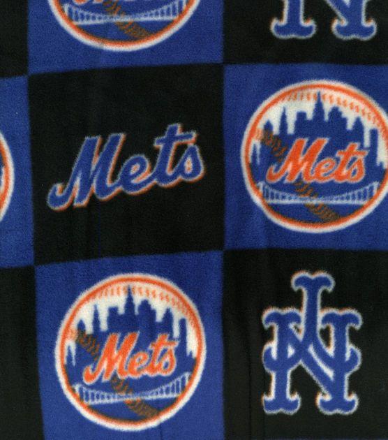 New York Mets MLB Fleece Fabric at Joann.com
