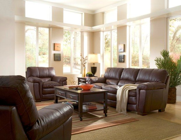 The Tempo Leather Sofa is a beautifully styled contemporary home