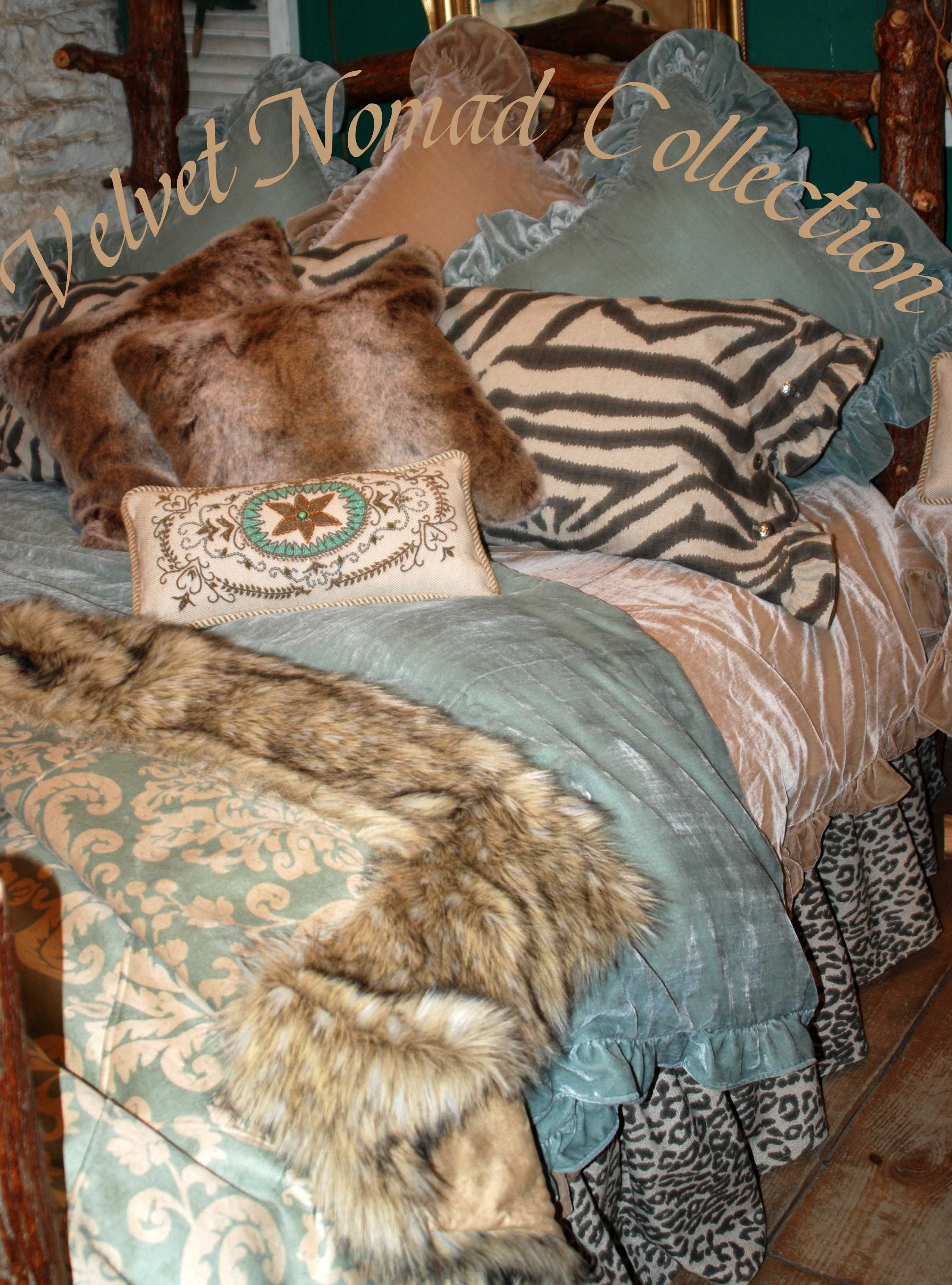 Tasha Polizzi Bedding Velvet Nomad Collection Fall 2011