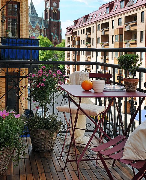 Perfect place for a cup of coffee in the mornings | Balcony ...